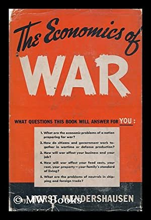 The Economics of War: Mendershausen, Horst