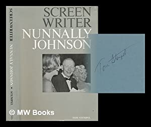 Screenwriter : the Life and Times of Nunnally Johnson / Tom Stempel: Stempel, Tom