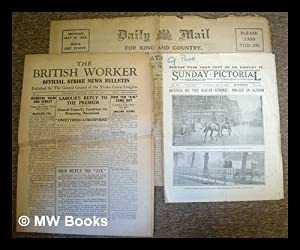 General Strike 1926, Great Britain : small archive of contemporary newspapers including a complete ...