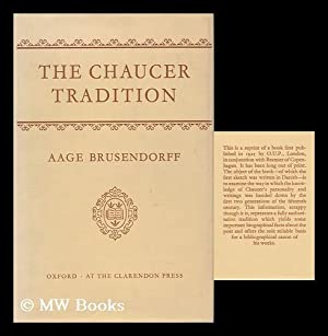 The Chaucer Tradition, by Aage Brusendorff: Brusendorff, Aage