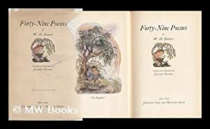 Forty-Nine Poems by W. H. Davies; Selected and Illustrated by Jacynth Parsons: Davies, W. H. (...
