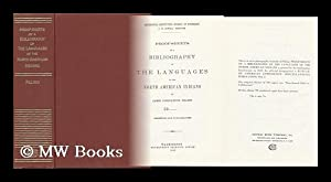 Proof-Sheets of a Bibliography of the Languages of the North American Indians: Pilling, James ...