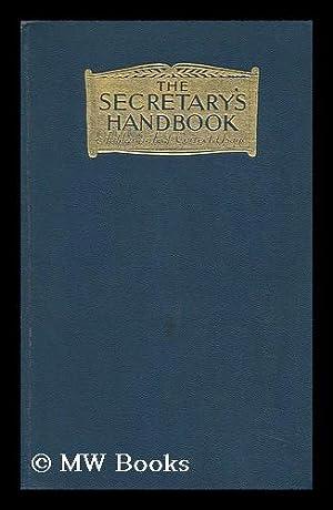 The Secretary's Handbook: Taintor Sara A.