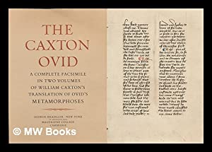 The Caxton Ovid : promotional fold-out booklet, with facsimile leaf: Caxton William / George ...