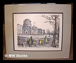 The Four Courts, Dublin / Hilda Roberts [art : colour reproduction, Cuala Press]: Robert, ...
