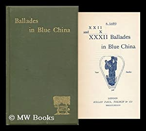 XXII and X XXXII Ballades in Blue China: Lang, Andrew