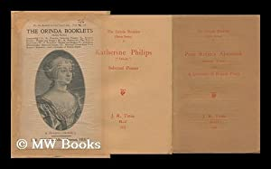 Orinda Booklets. Extra Series, I - VI (Complete) . Complete Set of Six Booklets: Philips, Katherine...