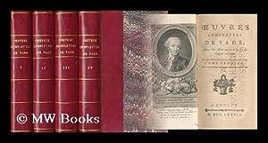 Oeuvres Complettes De Vade Avec Les Airs Notes a La Fin De Chaque Volume - [Complete in 4 Volumes]:...