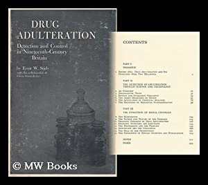 Drug Adulteration: Detection and Control in Nineteenth-Century Britain [By] Ernst W. Stieb, with ...