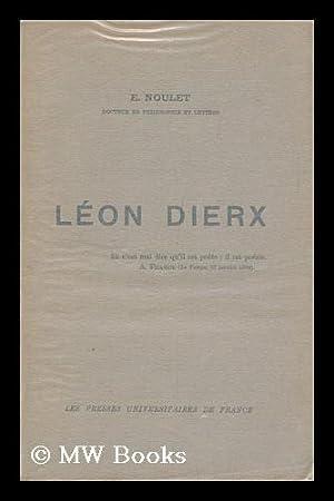 Leon Dierx / E. Noulet: Noulet, Emilie.
