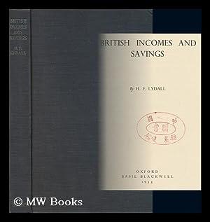 British Incomes and Savings: Lydall, Harold