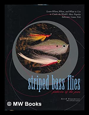 Striped bass flies : patterns of the pros : learn where, when, and what to use to catch the world&#...