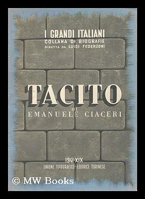 Tacito; Con Sei Tavole in Rotocalco: Ciaceri, Emanuele