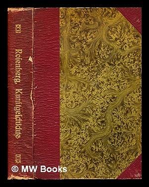 Handbuch der kunstgeschichte: Rosenberg, Adolf (1850-1906)