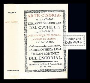 Arte cisoria o Tratado dell arte del: de Aragón, Enrique,
