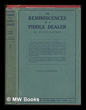 The reminiscences of a fiddle dealer /: Laurie, David (1833-1897)