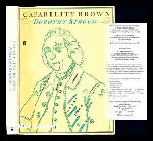 Capability Brown: Stroud, Dorothy. Brown, Lancelot