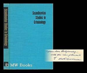 Scandinavian Studies in Criminology ; Volume 1: Scandinavian Research Council For Criminology