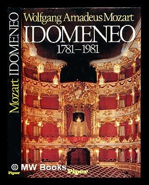 Wolfgang Amadeus Mozart, Idomeneo, (1781-1981) : Ausstellung,: Bayerische Staatsbibliothek. Hildesheimer,