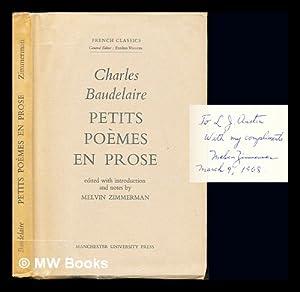 9780719002984 Petits Poemes En Prose French Classics