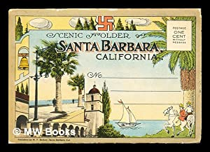 Scenic Folder of Santa Barabara, California: Anonymous