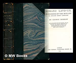 Romano lavo-lil : word-book of the Romany: Borrow, George Henry
