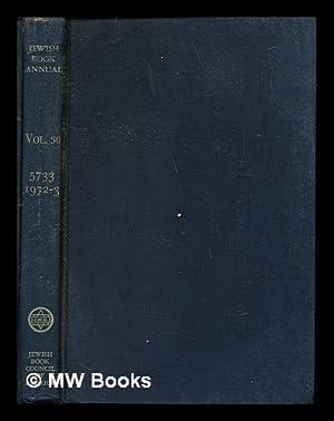 Jewish Book Annual: Volume 30: 5733 (1972-1973): Jewish Book Council