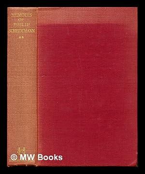 Memoirs of a social democrat. Vol. II: Scheidemann, Philip (1865-1939)