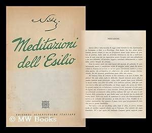Meditazioni Dell'esilio: Nitti, Francesco Saverio (1868-)
