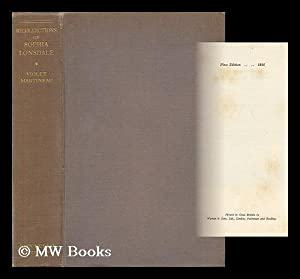 Recollections of Sophia Lonsdale / Compiled by Violet Martineau ; with a Frontispiece: Lonsdale, ...
