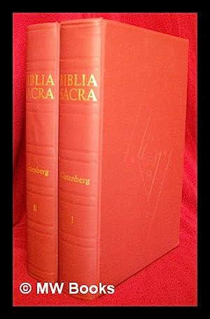 Biblia Sacra - [The Gutenberg 42 Line: Gutenberg, Johann (1397?-1468)