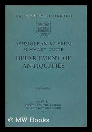 Ashmolean Museum : Summary Guide : Department of Antiquities: Ashmolean Museum
