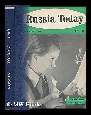 Russia Today [1950]: British-Soviet Society