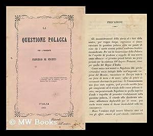 La Questione Polacca: Vincenti, Francesco De, Avvocato
