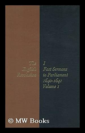 Fast Sermons to Parliament / General Editor: Jeffs, Robin (Ed.