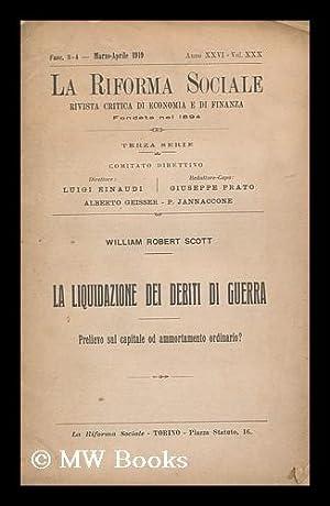 La Riforma Sociale : Rivista Critica Di Economia E Di Finanza Fondata Nel 1894, Terza Serie, Fasc. ...