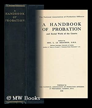 A Handbook of Probation and Social Work: National Association Of