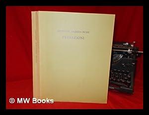 Prefazioni alle edizioni di Sweynheym e Pannartz: Bussi, Giovanni Andrea