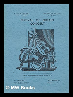 Festival of Britain Concert (Programme) - Weds.: Royal Festival Hall