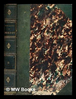 Oeuvres complètes de Diderot . revues sur: Diderot, Denis