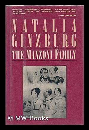 The Manzoni Family / Natalia Ginzburg ;: Ginzburg, Natalia