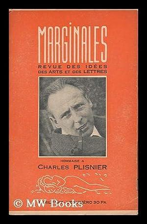 Marginales. Revue Bimestrielle Des Idees, Des Arts Et Des Lettres No. 30, Avril 1947 : Hommage a ...
