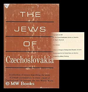 The Jews of Czechoslovakia : Historical Studies: Society For The