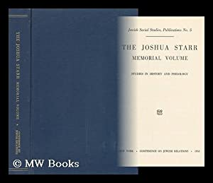 The Joshua Starr Memorial Volume; Studies in: Conference On Jewish
