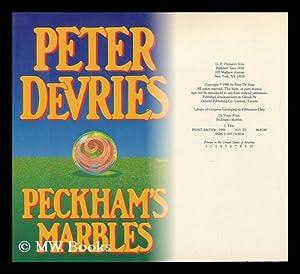 Peckham's Marbles / Peter De Vries: De Vries, Peter (1910-1993)