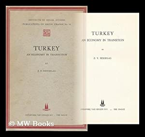 Turkey. an Economy in Transition: Hershlag, Zvi Yehuda