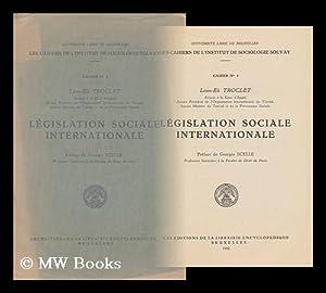 Legislation Sociale Internationale, Etc.: Troclet, Leon-Eli