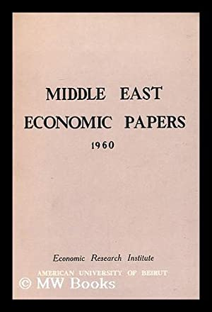 Middle East Economic Papers: Economic Research Institute