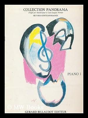 Collection Panorama 1er Recueil d'Oeuvres, pour piano.: Daniel-Lesur. Werner, Jean-Jacques