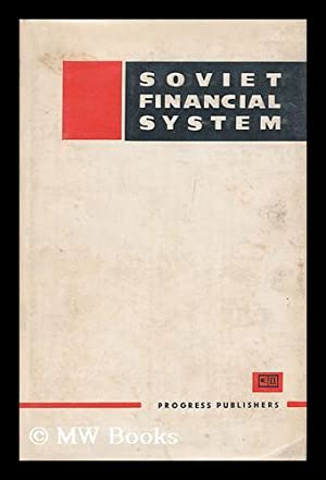 Soviet financial system: Moscow Financial Institute